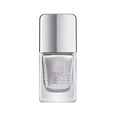 Chrome Infusion Nail Lacquer 01 (Цвет 01 Stainless Silver variant_hex_name CBC7CB)
