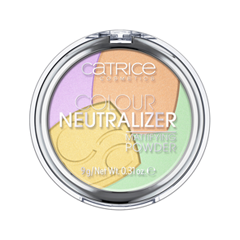 Пудра Catrice Colour Neutralizer Mattifying Powder (Цвет 010 Natural Balance variant_hex_name EAC0F8) для глаз catrice the modern matt collection eyeshadow palette 010 цвет 010 the must have matts variant hex name b19f9b