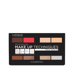 Для лица Catrice Professional Make Up Techniques Face Palette (Цвет 010 Volume One variant_hex_name EFCEC0)