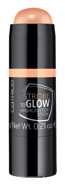 Хайлайтер Catrice Strobe To Glow Highlighter Stick 030 (Цвет 030 Ultra Golden Galaxy variant_hex_name EAA17F Вес 50.00)