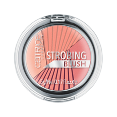 Румяна Catrice Strobing Blush 010 (Цвет 010 Mrs. Summer Peach variant_hex_name FC9680) румяна catrice artist shading palette 010 цвет 010 bronzéclat variant hex name ffab97