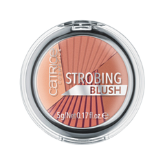 Румяна Catrice Strobing Blush 030 (Цвет 030 Mrs. Amber Brown variant_hex_name D08471) база под макияж isadora strobing fluid highlighter 81