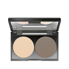 Компактная пудра Make Up Factory Duo Contouring Powder 15 (Цвет 15 Raw Umber variant_hex_name EED1B5) цены онлайн