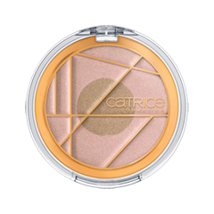 Хайлайтер Catrice Soleil Dété Duo Highlighter (Цвет C01 Gentle Sun Glow variant_hex_name D7AFA3) pupa хайлайтер для век duo highlighter matt