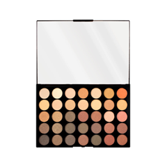 Для глаз Makeup Revolution Pro HD Palette Matte Amplified 35 Direction (Цвет Direction variant_hex_name AB8C70) serene innovations hd 60 high definition amplified phone