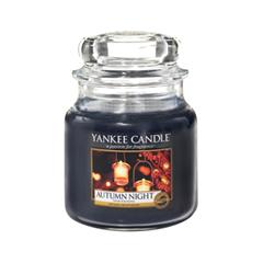 Ароматическая свеча Yankee Candle Autumn Night Medium Jar Candle (Объем 411 г) ароматическая свеча yankee candle cuban mojito medium jar candle объем 411 г