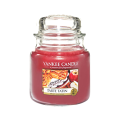 Ароматическая свеча Yankee Candle Tarte Tatin Medium Jar Candle (Объем 411 г) ароматическая свеча yankee candle cuban mojito medium jar candle объем 411 г