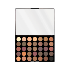 Для глаз Makeup Revolution Pro HD Palette Matte Amplified 35 Luxe (Цвет Luxe variant_hex_name 975F60) serene innovations hd 60 high definition amplified phone