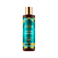 Гель для душа Zeitun Honey Verbena Hydrating Exfoliating Shower Cream (Объем 200 мл) лосьон для тела zeitun honey verbena light body lotion объем 200 мл