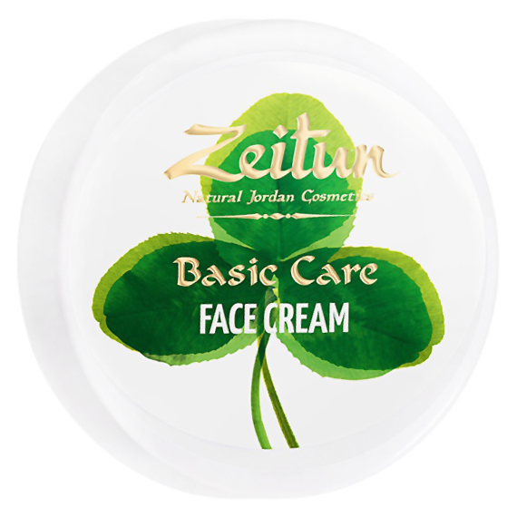 Крем Zeitun Basic Care Face Cream (Объем 50 мл) face care крем для лица интенсивный с авокадо и алоэ вера