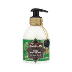 Жидкое мыло Zeitun Natural Hand & Body Wash Sensual Blend (Объем 300 мл) premier набор в косметичке чувственныйкрем для рук крем для ног лосьон для тела premier gifts amazing sensual body trio b78 1 шт