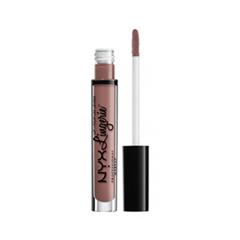 Жидкая помада NYX Professional Makeup Lip Lingerie 15 (Цвет 15 Bustier variant_hex_name A07369) nyx professional makeup жидкая губная помада lip lingerie honeymoon 01