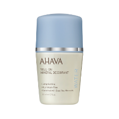 Дезодорант Ahava Deadsea Water Roll-On Mineral Deodorant (Объем 50 мл) гель для душа ahava deadsea salt liquid deadsea salt объем 200 мл