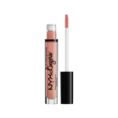 Жидкая помада NYX Professional Makeup Lip Lingerie 16 (Цвет 16 Cheekies variant_hex_name F8A88D) nyx professional makeup жидкая губная помада lip lingerie cashmere silk