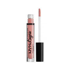 Жидкая помада NYX Professional Makeup Lip Lingerie 22 (Цвет 22 Silk Indulgent variant_hex_name E29583) помады nyx professional makeup жидкая губная помада lip lingerie ruffle trim