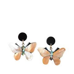 Серьги Aloud Перламутровые серьги-бабочки