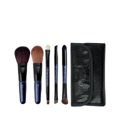 Набор кистей для макияжа Royal & Langnickel Brush Essentials™ Travel Kit royal & langnickel pink essentials brow lash comb кисть грумер для бровей и ресниц royal&langnickel