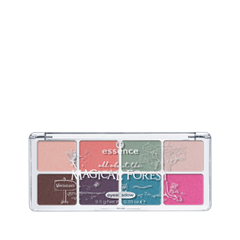 Для глаз essence All About … Eyeshadow Palettes 07 (Цвет 07 The Magical Forest variant_hex_name 478BA0) тени для век essence live laugh celebrate eyeshadow 07 цвет 07 the sun is shining variant hex name d6ac7a