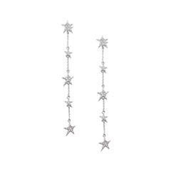 Серьги Herald Percy Длинные серьги-звезды серьги herald percy асимметричные серьги звезды