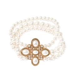 Браслеты Herald Percy Перламутровый браслет с крестообразной подвеской браслеты herald percy браслет цепочка со звездами