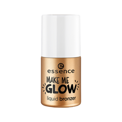 Бронзатор essence Make Me Glow Liquid Bronzer (Цвет 20 Sun in a Bottle variant_hex_name FBB4A9) бронзатор by terry сыворотка бронзатор terrybly densiliss® sun glow 03 цвет 03 sun bronze variant hex name bd795b
