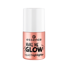 Хайлайтер essence Make Me Glow Liquid Highlighter (Цвет 10 Morning Dew in a Bottle variant_hex_name ECC0B5) хайлайтер essence strobing highlighter stick 20 цвет 20 glow up your life variant hex name eddcc9