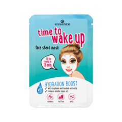Тканевая маска essence Time to Wake Up Face Sheet Mask тканевая маска для лица etude house wonder pore black mask sheet