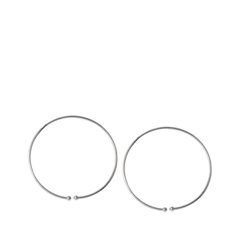 Серьги Aqua Серебристые серьги-кольца кольца колечки кольцо анжелика авантюрин