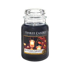 Ароматическая свеча Yankee Candle Autumn Night Large Jar Candle (Объем 623 г) 623 мл hotel crystal chandelier led candle holder lamps modern long large chandeliers villa living room hanging light free shipping