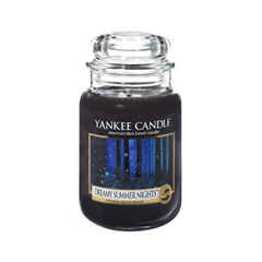 Ароматическая свеча Yankee Candle Dreamy Summer Night Large Jar Candle (Объем 623 г) 623 мл hotel crystal chandelier led candle holder lamps modern long large chandeliers villa living room hanging light free shipping
