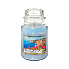 Ароматическая свеча Yankee Candle Riviera Escape Large Jar Candle (Объем 623 г) 623 мл hotel crystal chandelier led candle holder lamps modern long large chandeliers villa living room hanging light free shipping