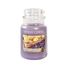 Ароматическая свеча Yankee Candle Lemon Lavender Jar Candle (Объем 623 г) ароматическая свеча yankee candle lavender small jar candle объем 104 г