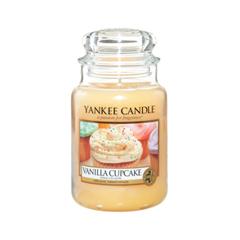 цены Ароматическая свеча Yankee Candle Vanilla Cupcake Jar Candle (Объем 623 г)