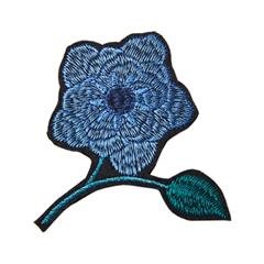 Броши Herald Percy Синяя брошь-цветок броши honey jewelry брошь икебана синяя