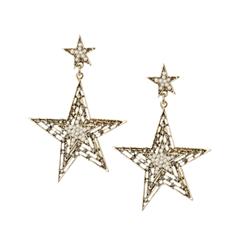 Серьги Herald Percy Серьги-звезды с мини-жемчугом и цирконами herald percy колье с цирконами