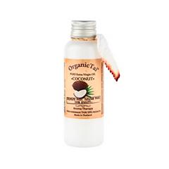 Масло Organic Tai Чистое базовое масло Кокоса холодного отжима (Объем 120 мл) organic tai массажное масло для лица жасмин жожоба и сладкий миндаль 120 мл