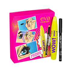 Макияж EVA Mosaic Набор с карандашом Make Up Eyes тушь make up factory make up factory ma120lwhdr04