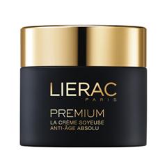 Крем Lierac Premium la Crème Soyeuse Texture (Объем 50 мл) lierac лиерак гидраженист сыворотка кислородная увлажняющая флакон с пипеткой 30 мл