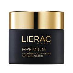 Крем Lierac Premium la Crème Voluptueuse Texture Originelle (Объем 50 мл) lierac лиерак деридиум крем питательный для сухой и очень сухой кожи банка 50 мл