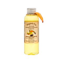 Масло Organic Tai Масло для волос Интенсивное укрепление и восстановление (Объем 120 мл) organic tai массажное масло для лица жасмин жожоба и сладкий миндаль 120 мл