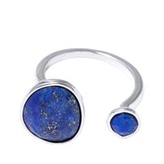 Кольца Wisteria Gems Незамкнутое кольцо с синими камнями