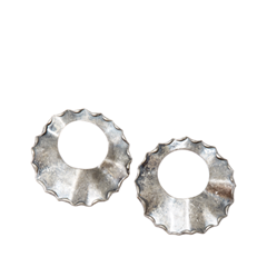 Серьги Wisteria Gems Серебристые серьги-кольца