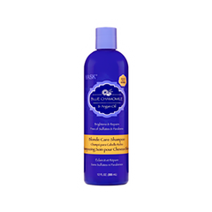 Шампунь Hask Blue Chamomile & Argan Oil Blonde Care Shampoo (Объем 355 мл) шампунь kativa morocco argan oil shampoo 350 мл