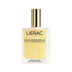 Масло Lierac Huile Sensorielle aux 3 Fleurs (Объем 100 мл) lierac масло уход sensoriel aux 3 fleurs для тела и волос восстанавливающее белые цветы 100 мл