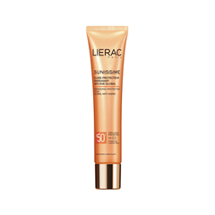 Защита от солнца Lierac Sunissime Fluide Protecteur Énergisant Anti-Âge Global SPF50+ (Объем 40 мл) флюид lierac sunissime fluide protecteur energisant spf30 40 мл