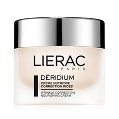 Крем Lierac Déridium Crème Nutritive Correction Rides (Объем 50 мл) lierac лиерак деридиум крем питательный для сухой и очень сухой кожи банка 50 мл
