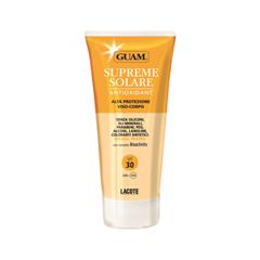 Защита от солнца Guam Supreme Solare Viso-Corpo Alta Protezione SPF30 (Объем 150 мл) защита от солнца guam solare anti age spf 50 объем 100 мл