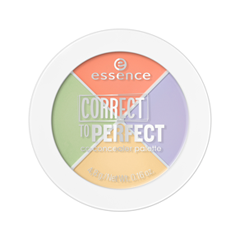 Для лица essence Correct To Perfect CC Concealer Palette 10 (Цвет  Nobody Is ! variant_hex_name C3BCD9)