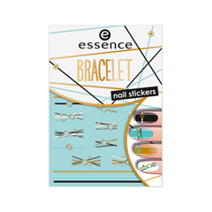 Дизайн ногтей essence Наклейки для ногтей Bracelet Nail Stickers 10 дизайн ногтей essence накладные ногти french click