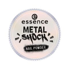 Дизайн ногтей essence Пудра для ногтей Metal Shock Nail Powder 03 (Цвет 03 I'm So Fancy  variant_hex_name FBE3E0) дизайн ногтей essence наклейки для ногтей bracelet nail stickers 10